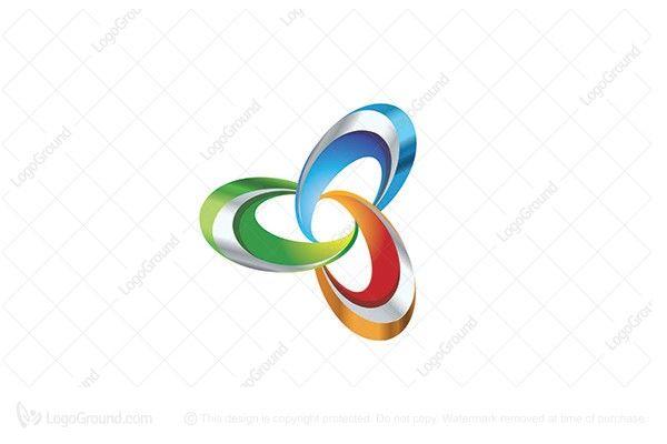 Exclusive Logo 104658 Color Trinity Logo Trinity Logo Abstract