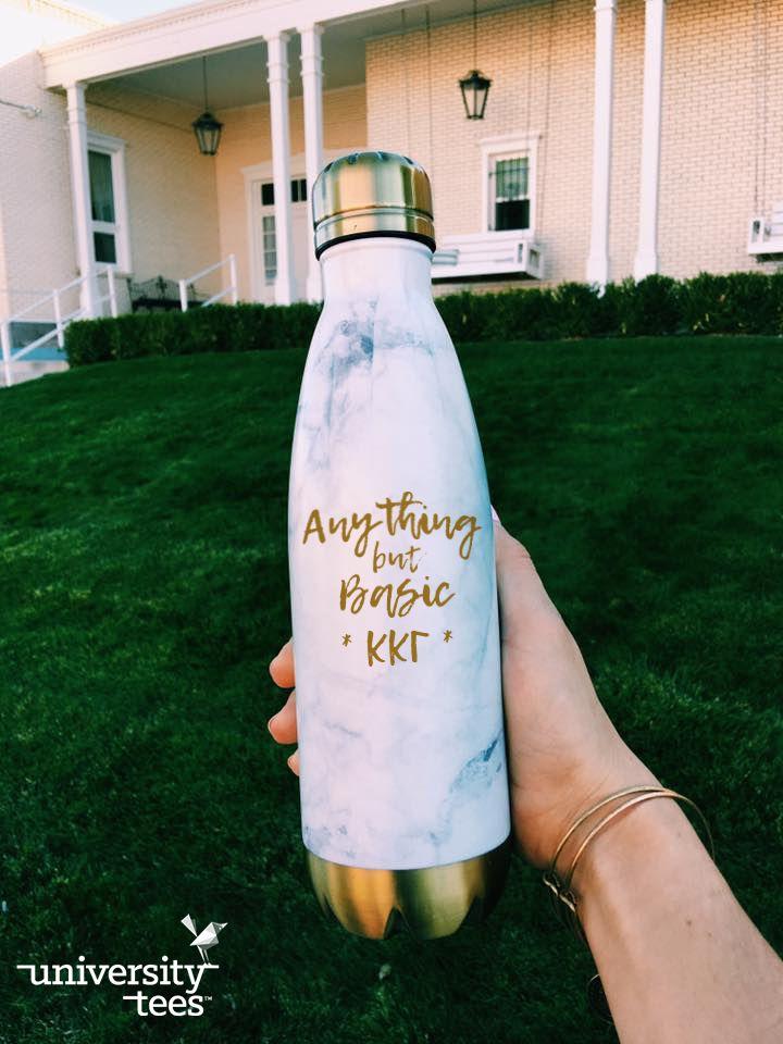 anything but basic | Kappa Kappa Gamma | Made by University Tees | universitytees.com
