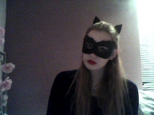 Catwoman mask and ears, by Thestars-Themoon on Tumblr.
