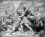 144 Illustrationen von Geschichten aus den jüdischen und christlichen Schriften   – History