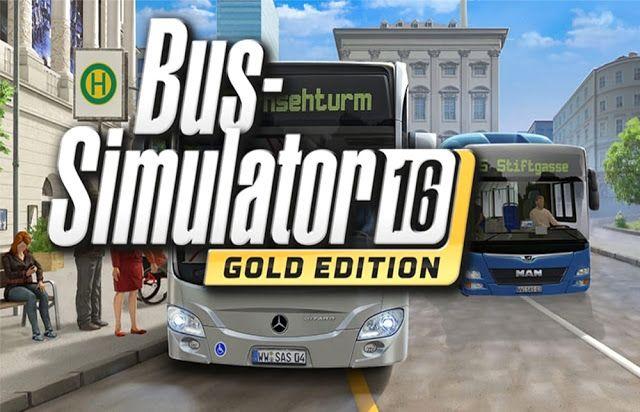 لعبة قيادة الباصات الواقعية Bus Simulator 16 كاملة بحجم صغير Bus Games Gaming Pc Bus
