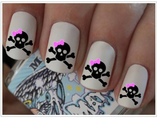 21 Killer Skull Nail Art Design Tutorials | Nail Design Ideaz