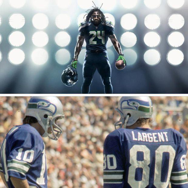 "SEAHAWKS ADVANCE TO ""SWEET 16″ IN BRACKET TO DETERMINE GREATEST UNIFORM IN NFL HISTORY"
