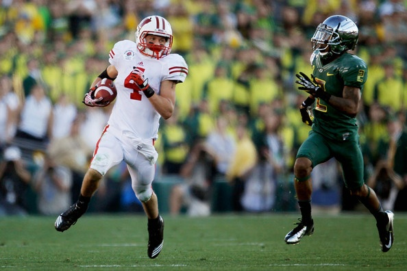 Wisconsin Badger Football cousin #4 Jared Abbrederis