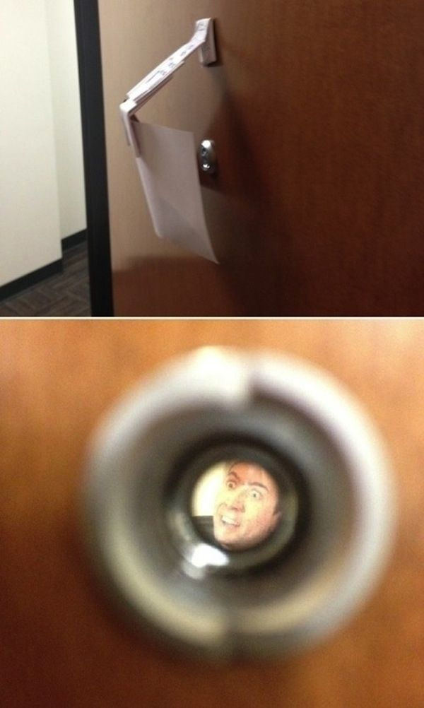 Nicholas Cage calling.   27 Pranks You Need To Really Own April Fool's Day