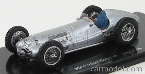 SPARK-MODEL B66040438 Scale 1/43  MERCEDES BENZ F1 W 154 1938 ALUMINIUM
