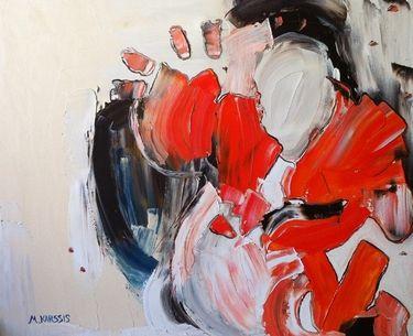 """Saatchi Online Artist Mary Karathanassis; Painting, """"Marble Sensation II"""" #art"""