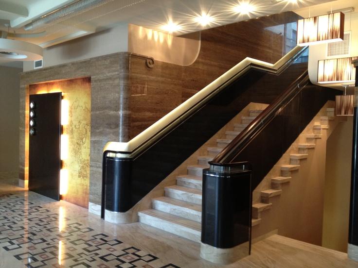 Stairway to... luxury Foksal Residence