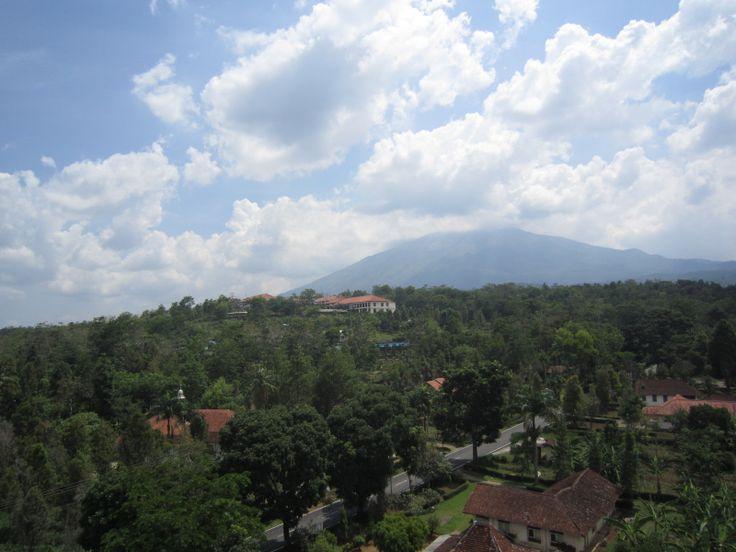 view at salib putih salatiga indonesia