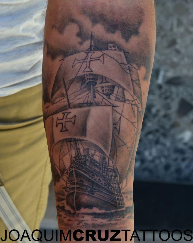 nau+caravela+portuguesa+tattoo+power+lojas+estudios+de+tatuagens+porto+matosinhos+portugal+joaquim+cruz+melhor+tatuador+best+tattoo+artist.JPG (1267×1600)