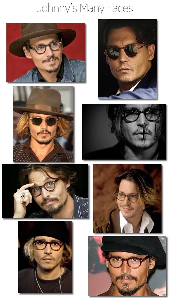 He's just getting hotter while growing older : Johnny Depp Glasses: Style Icon | #theLOOK