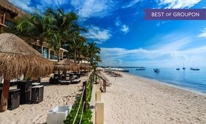 Groupon - ✈ 4, 6, or 7 Night The Reef Coco Beach Trip with Nonstop Airfare. Price per Person Based on Double Occupancy. in Playa del Carmen, Mexico. Groupon deal price: $549