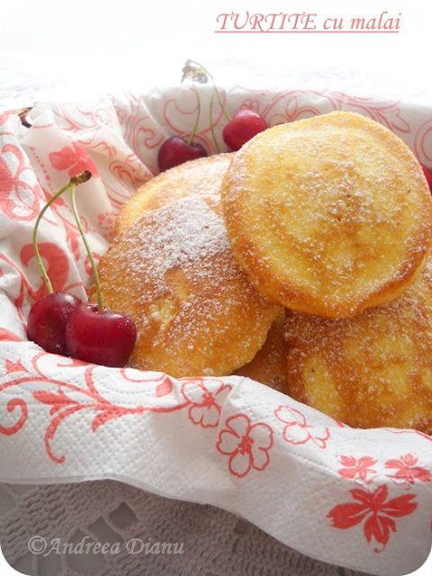 Turtite dulci cu mălai | Pasiune pentru bucatarie