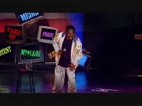 Eddie Griffin: Real story on the N word - YouTube