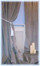 Stunning Elegant Dove Grey Velvet Curtains ~ Bespoke Made To Measure From £85