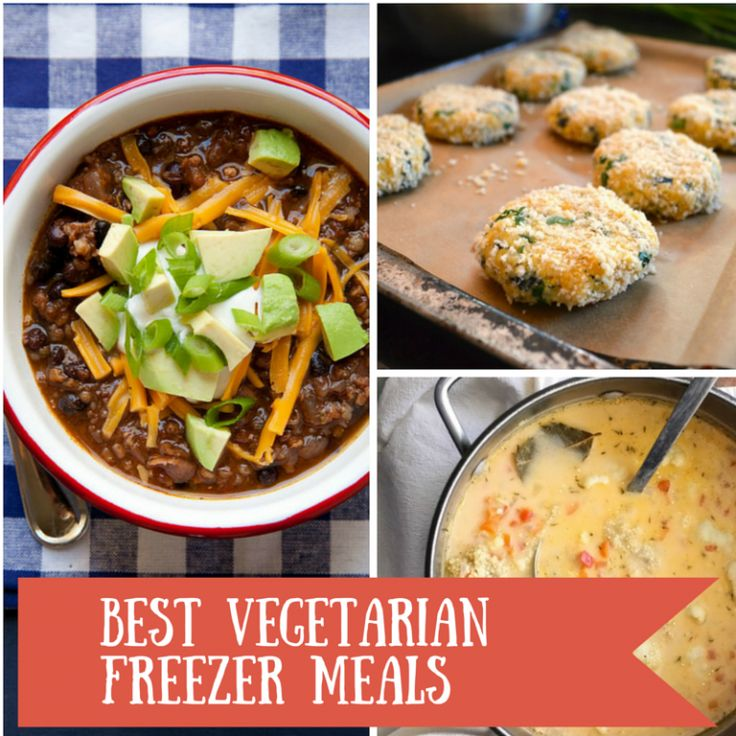 Best Vegetarian meals that freeze well. These are some seriously awesome delicious and healthy veggie meals the whole family will love.