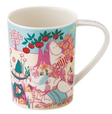 Moomin Four Seasons of Moominvalley Mug- Spring