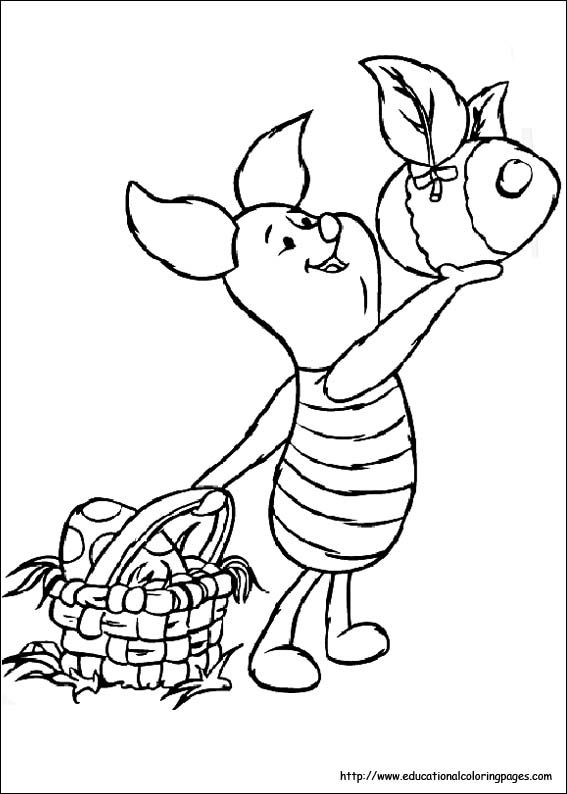 easter tigger coloring pages - photo#23