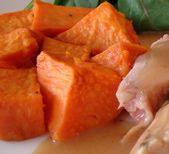 Glazed Yams Recipe - Maple-Glazed Yams - Thanksgiving Yam Recipes