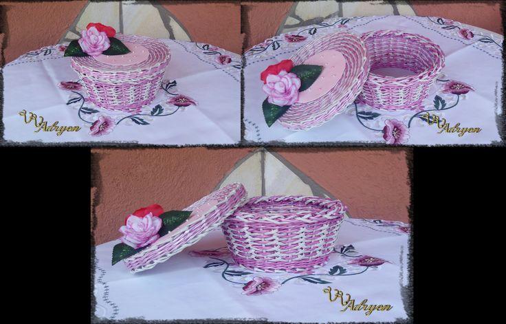 Rózsaszín díszdoboz 2