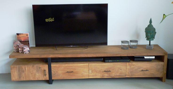 Best 25+ Wooden Tv Units Ideas On Pinterest