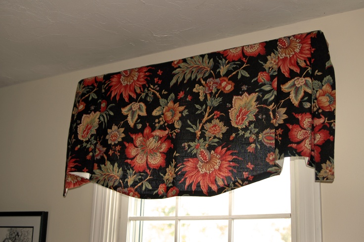 Homemade Valances For Windows : Waverly valance homemade window treatments pinterest