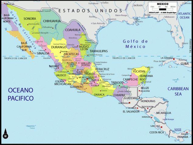 The Best Mapa Estado De Mexico Ideas On Pinterest Mexico Map - Maps de mexico
