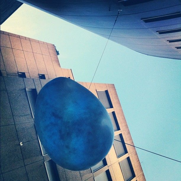 Bubble over the Stadtlounge in St.Gallen | http://instagram.com/p/Sd8yq6sChv/