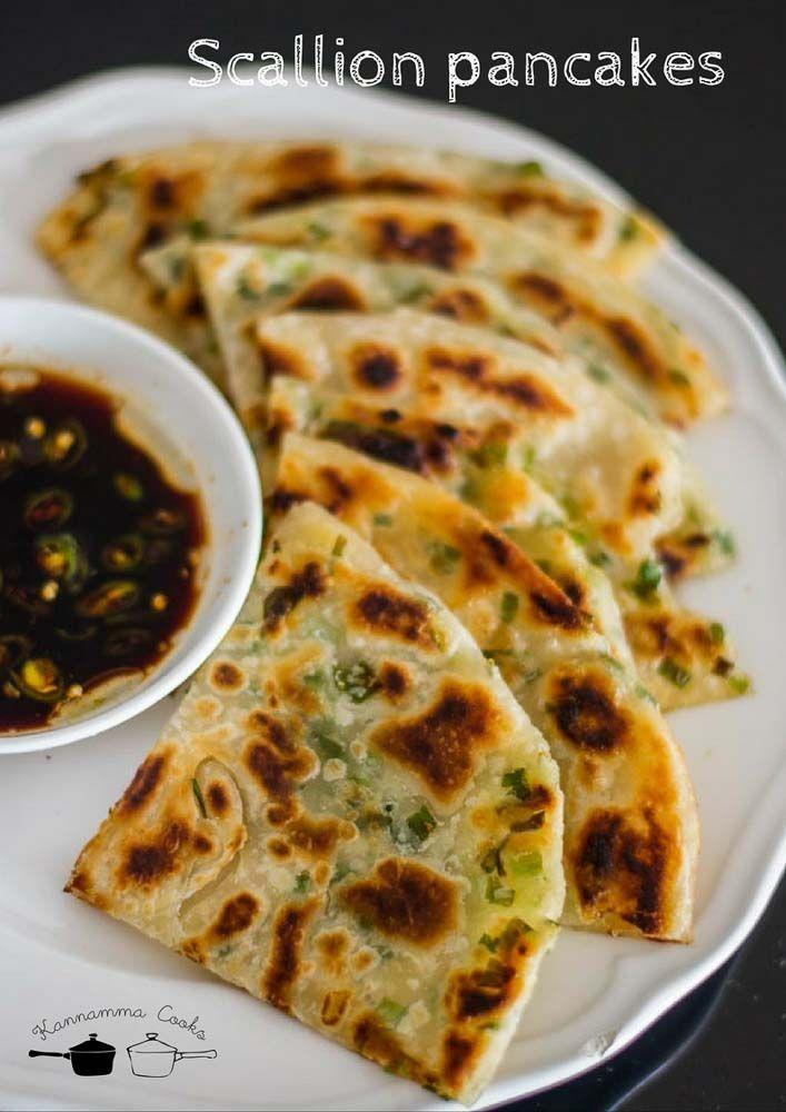 25+ best ideas about Scallion pancakes on Pinterest