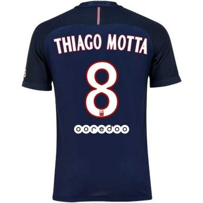 Paris Saint Germain PSG 16-17 Thiago Motta 8 Hjemmebanetrøje Kortærmet.  http://www.fodboldsports.com/paris-saint-germain-psg-16-17-thiago-motta-8-hjemmebanetroje-kortermet.  #fodboldtrøjer