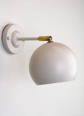 Mr Ralph |          Mid-century Dome Wall Sconce MERINO - TREND, Wall Lights $199