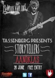 I like this poster a lot :)    Aandklas Storytellers met Francois van Coke!
