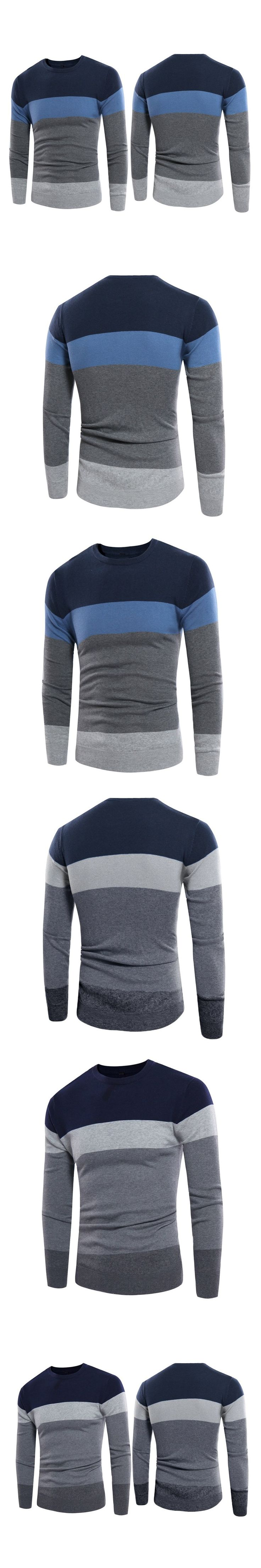 2017 New Autumn Winter Casual Thick Warm Cashmere Sweater Men Pullovers Brand Pullover Long Sleeve V-Neck Slim Knitwear Sweaters