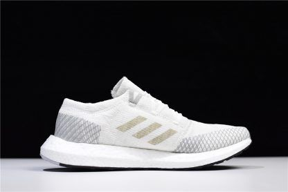 8914aea78 adidas Pureboost GO Cloud White Grey AH2311 For Sale-1