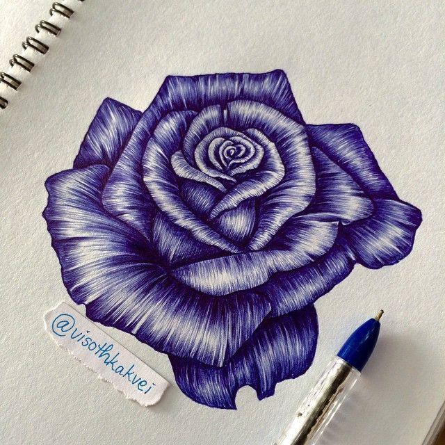 Cuz it's Spring, so I just wanna work on more flowers  Lavender Rose - ballpoint pen #artists_magazine #creative_instaarts #arts_gallery #artistic_share #arts_mag #art_realistique #instartpics #artfido #worldofpencils #art_realistiq #art_motive #artists_magazine #skrien #art_spotlight #arts_help #instaartist #artacademy