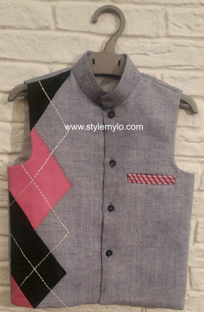 Available at Stylemylo, Nehru jackets are perfect for any occasion. Team it with plain kurta churidar for a wedding or festive occasion or with denims or shorts for a smart casual look!!