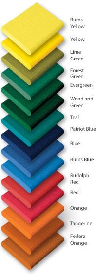 Color Options for Plastic Lumber | Recycled Plastics Industries, Inc.