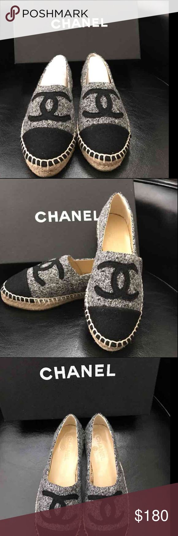 chanel espadrilles 2016/2017 fall winter new colour New in box with dust bag made in Spain ⚡️last day on sale ⚡️ CHANEL Shoes
