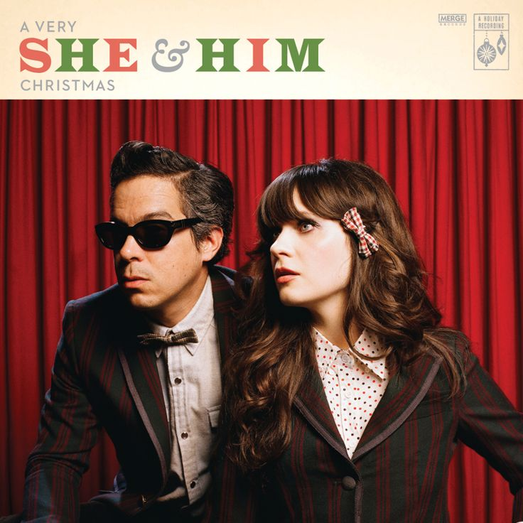 She & Him - A Very She & Him Christmas.... i know it's november, but this album is ridiculously good. if you need a fresh christmas album pick up this gem at your local iTunes (because i don't think they sell it at target).