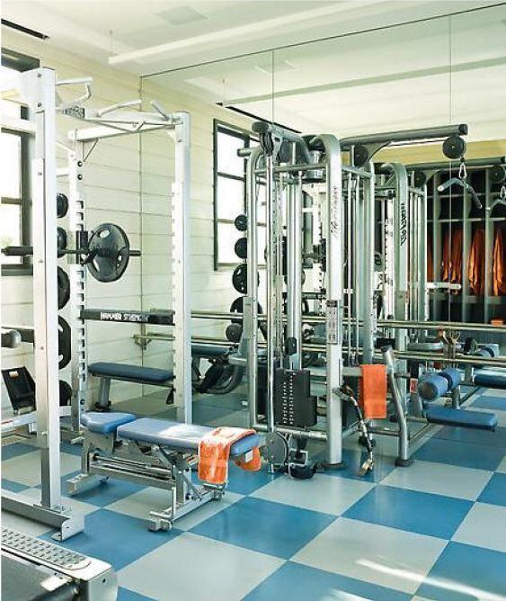 Lovely Home Gym Locker
