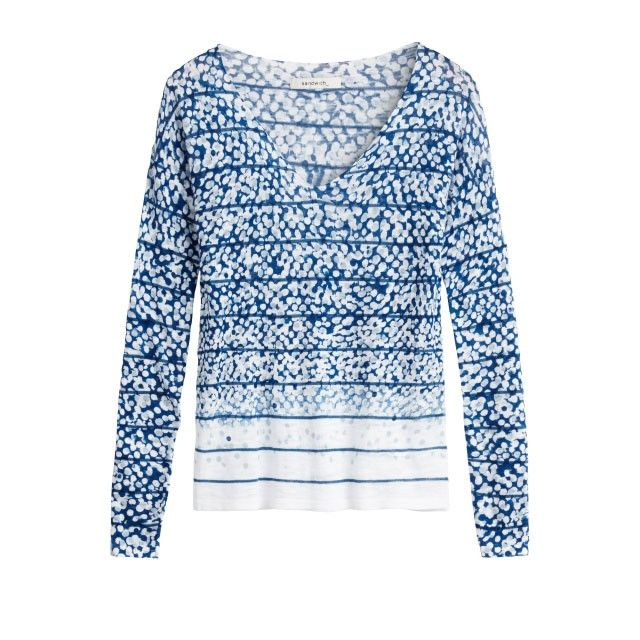 Sandwich Clothing Abstract Print Jumper Blue