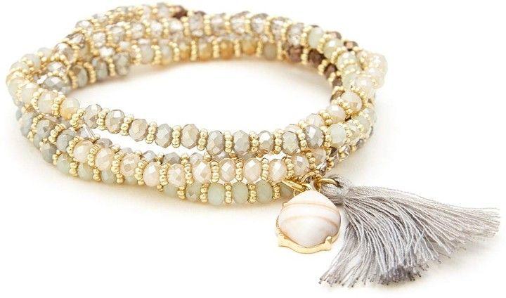 Stretch Beaded Bracelet Set