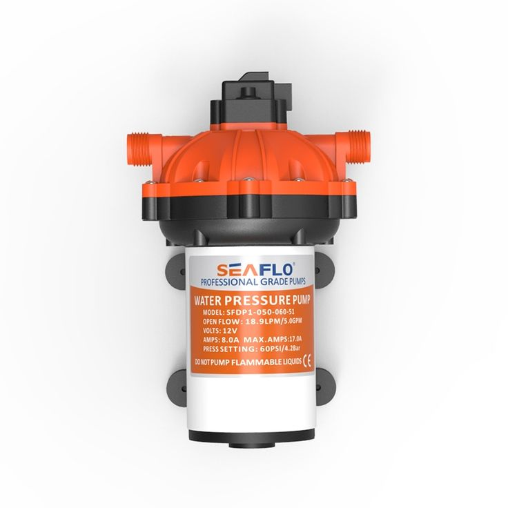 99.99$  Watch here - http://ali0cx.worldwells.pw/go.php?t=1000002017465 - New Design SEAFLO 12V 60PSI 5GPM Water Pump Diaphragm 17A 18.9LPM  for Boat Accessories Marine Yachting RV