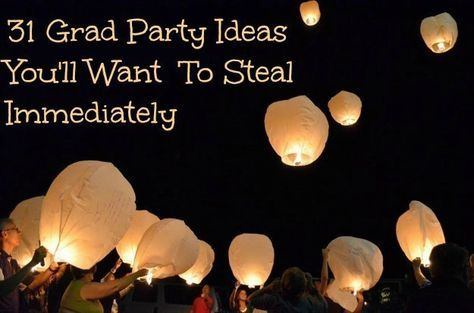 31 Grad Party Ideas You'll Want To Steal Immediately! #graduation #classof2015 #graduationparty