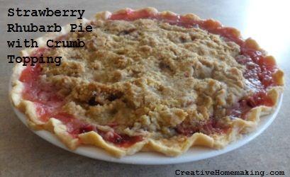 pies rhubarb strawberry rhubarb pie rhubarb recipes vogue vegetarian ...