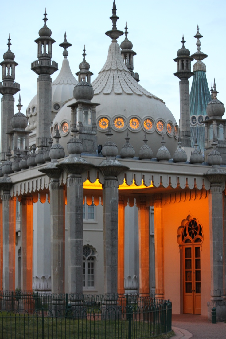 The Royal Pavilion in Brighton is a former royal residence. It was built in three campaigns, beginning in 1787, as a seaside retreat for George, Prince of Wales, from 1811 Prince Regent. It is often referred to as the Brighton Pavilion
