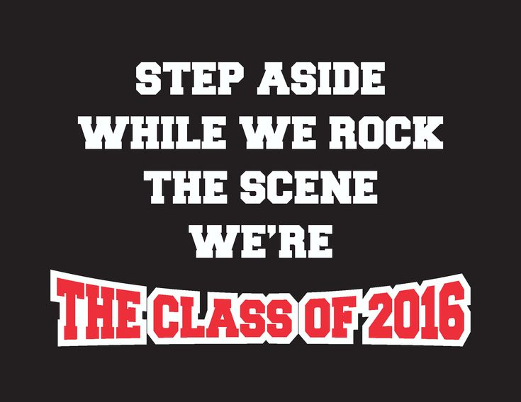 senior shirts 2016 slogans | just b.CAUSE