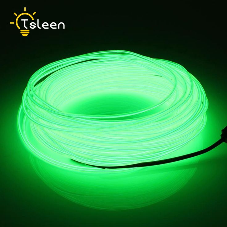TSLEEN Cheap+Big Promotion 9.9ft 3v battery neon el wire led light string tube birthday strip tubes #Affiliate