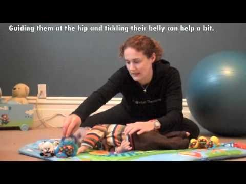 Encouraging Rolling – From Back to Stomach -  Pinned by @PediaStaff – Please Visit http://ht.ly/63sNt for all our pediatric therapy pins