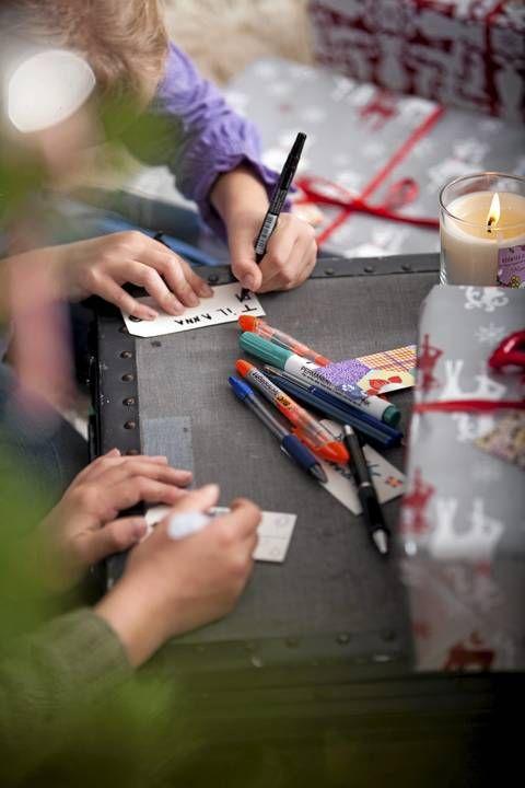Julekalender med aktiviteter